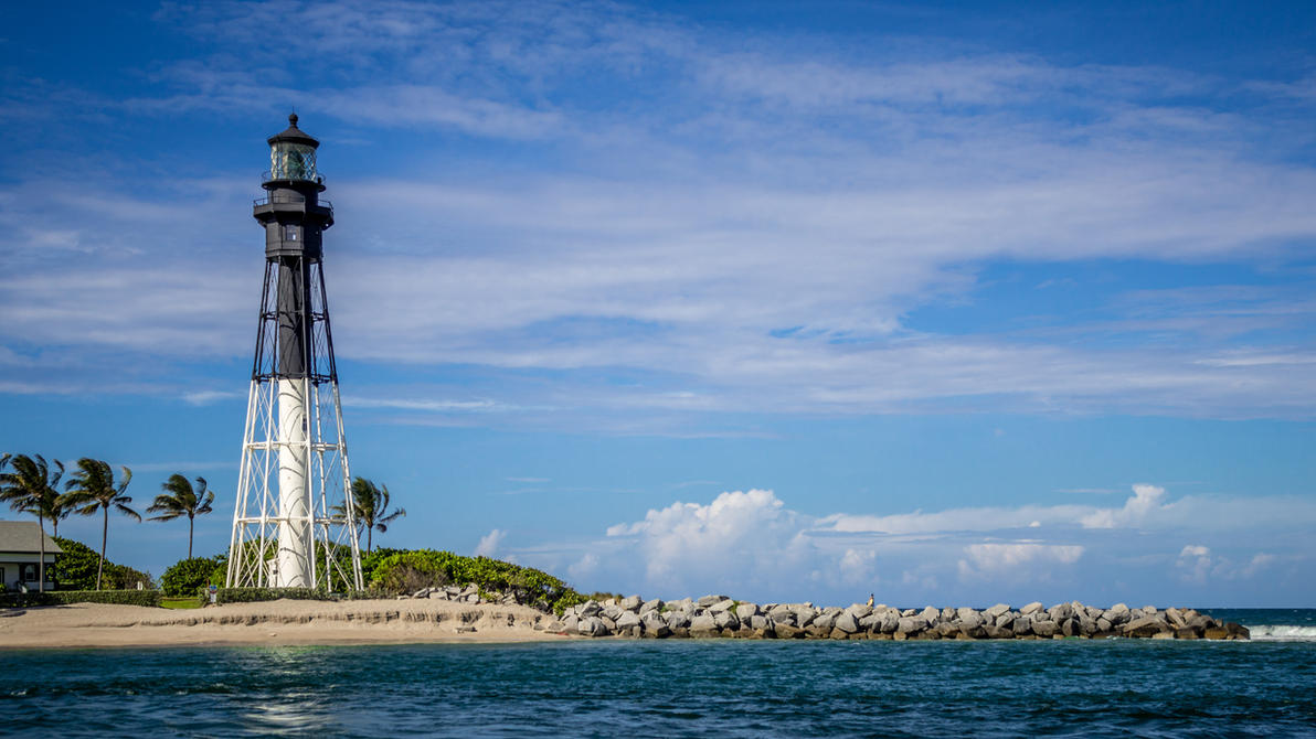Lighthouse Wallpaper by FavsCo