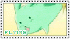 1- premio: stamp de Flying Mint Bunny by Aurion84