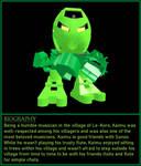 BIONICLE Character Present - Kaimu by TRJComix