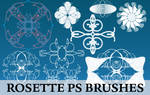 Hi-Res Rosette Brushes