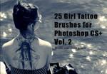 Girl Tattoo Brushes Vol.2