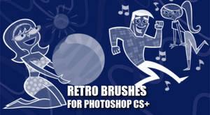 Retro Cartoon Brushes