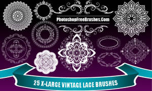 Vintage Lace PS Brushes