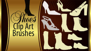 Shoes Silhouette Brushes
