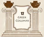 Greek Columns PS Brushes