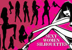 Sexy Women Silhouette Brushes