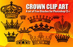 Crown Clip Art Brushes