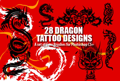 Dragon Tattoo Designs by fiftyfivepixels