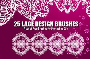Lace Design Brushes