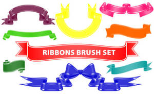 Ribbons-PS Brushes by fiftyfivepixels