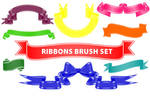 Ribbons-PS Brushes
