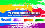 Paint Strokes: PS Brushes