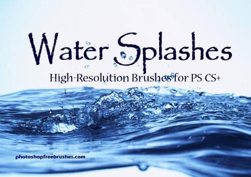 Water Splashes-PS Brush Set
