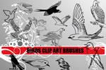 Bird Clip Art Photoshop Brushe