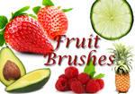 Fruit Clip Art Brushes