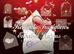 Invitation Envelopes PS Brush