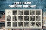 18 Tree Bark PS Brushes