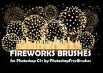 18 Fireworks Photoshop Brushes
