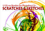 15 Grunge Brushes: Scratches