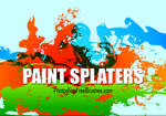 15 Grunge Brushes-Big Splatter