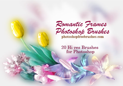 20 Photo Frames PS Brushes