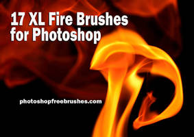 17 Fire Brushes for Photoshop by fiftyfivepixels