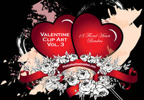 Valentine PS Brushes Part 3 by fiftyfivepixels
