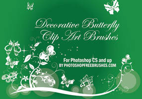 21 Butterfly Photoshop Brushes by fiftyfivepixels