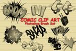 14 Comic Cartoon PS Brushes
