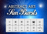 Abstract Brushes: Sun Bursts