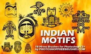 18 Indian Motiffs PS Brushes