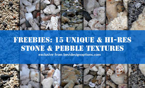 15 Pebble and Stone Textures
