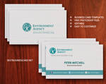 Free Eco-Friendly Business Card Template Ver.2