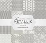 27 Free Seamless Embossed Metallic Gray Patterns