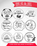10 Free Spring Tags and Labels