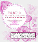 18 Watercolor Floral Brushes for Photoshop-Part 2