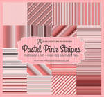 24 Pastel Pink Striped Patterns and Backgrounds