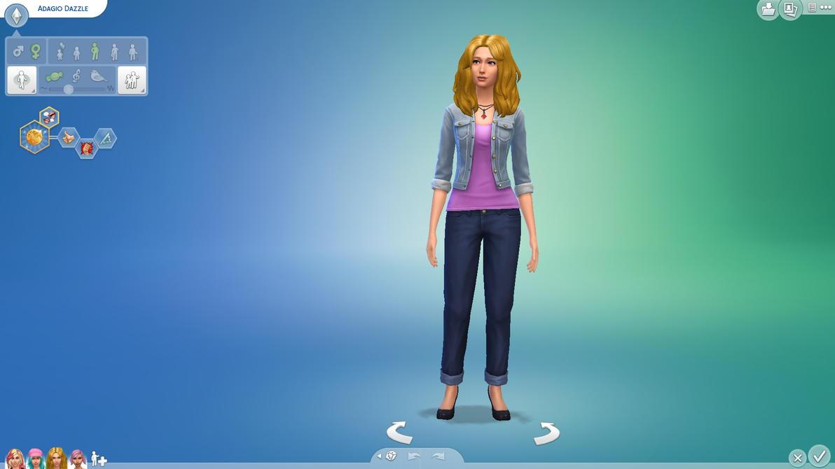Adagio Dazzle (Sims 4) by Rain-Twister