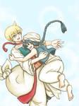 Alibaba and Aladin