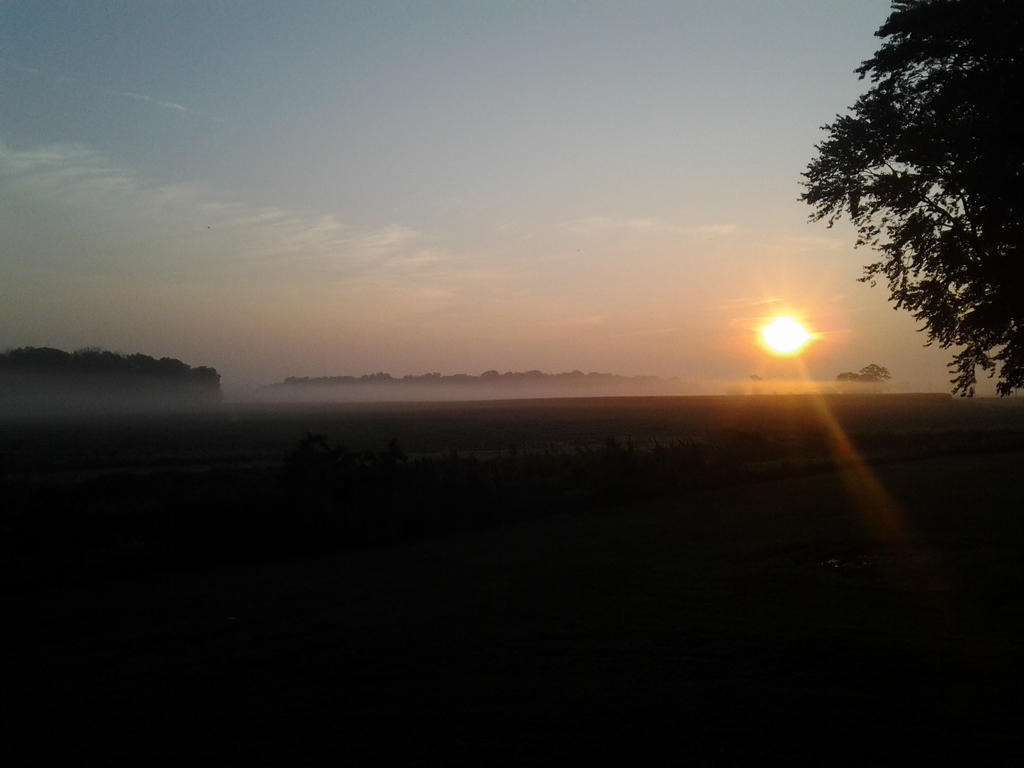 Country sunrise by WriterGirl64 on DeviantArt