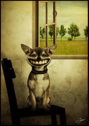 Happy dog by natdatnl