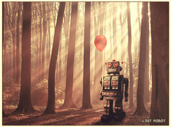lost robot by natdatnl