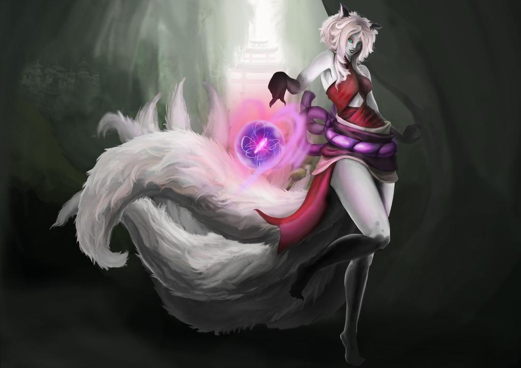 Sufian Wild-fox-ahri by Mysteriousguy07