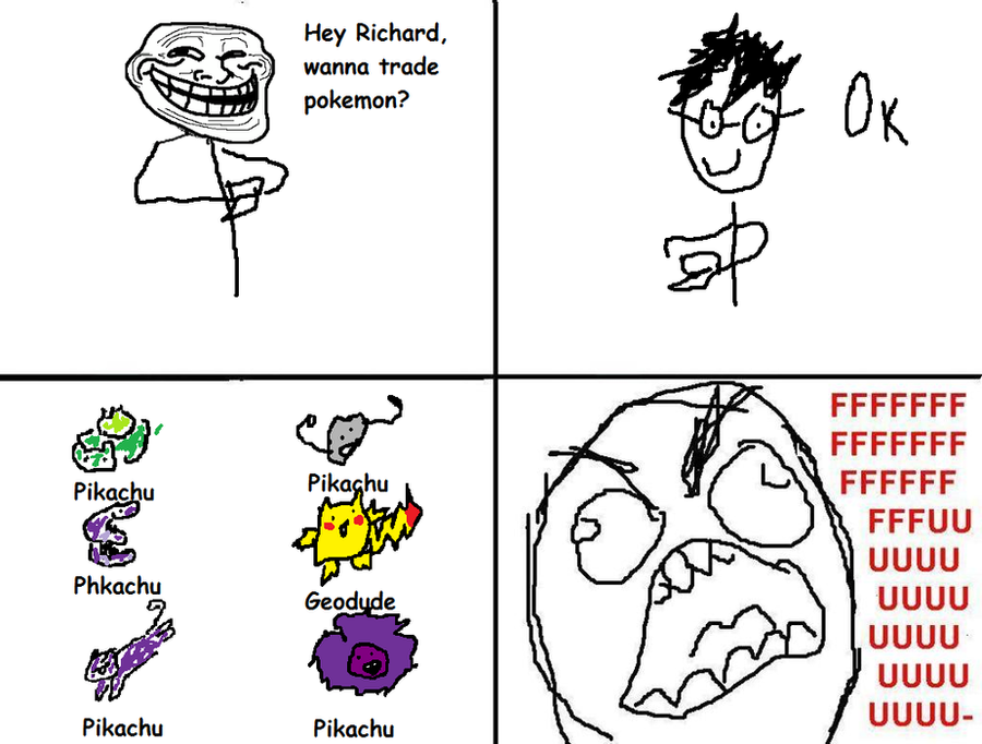 Pokemon Naming Rage Comic by ceatah330