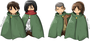 Attack on Titan pairs