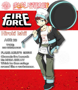 Fire Force OC: Hiroki Ishii