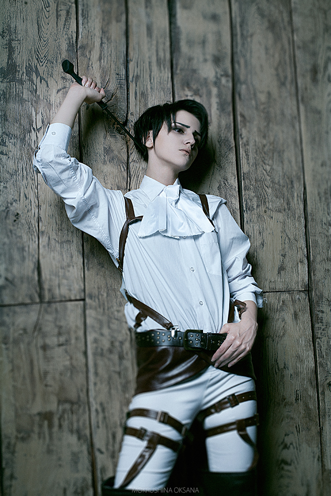 Shingeki no Kyojin: Corporal Rivaille 2 by GeshaPetrovich