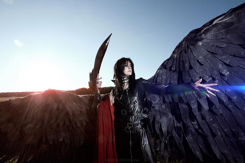 Angel Sanctuary: Lucifer .This my war by GeshaPetrovich