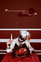 Tokyo Ghoul - (Kaneki Ken) Bon Appetit!! by GeshaPetrovich