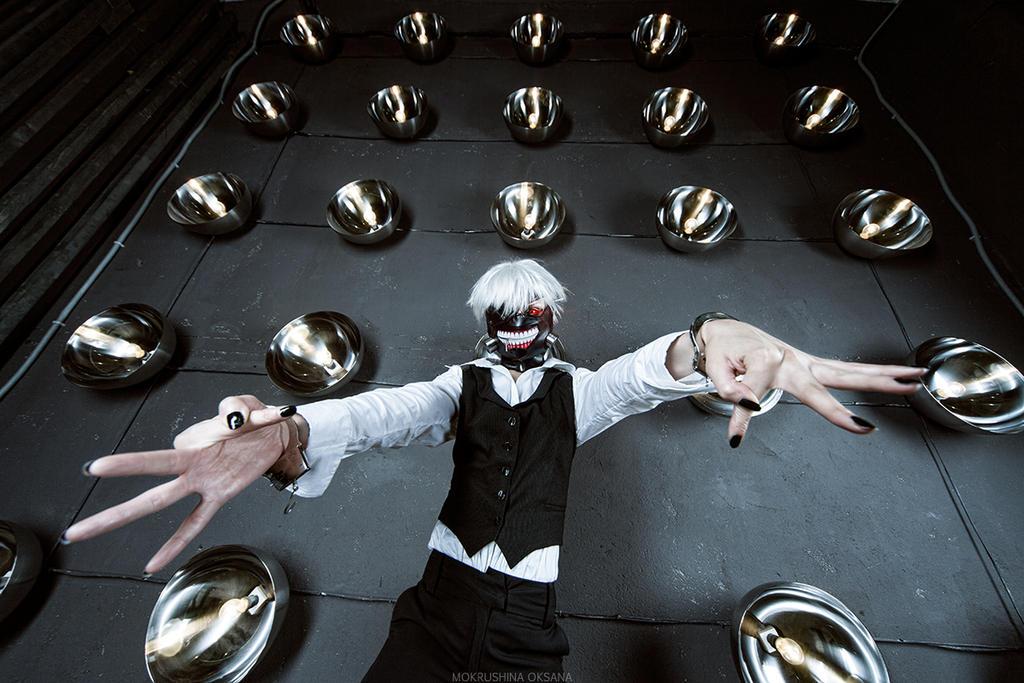Tokyo Ghoul - (Kaneki Ken) Let's start)) by GeshaPetrovich